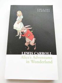 英文原版小说 Alice's Adventures in Wonderland 爱丽丝漫游仙境