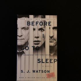 Before I Go To Sleep Movie Tie-in Edition:A Novel