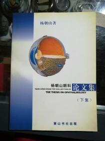 杨朝山眼科论文集下集