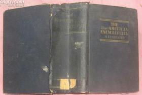 新美国大百科全书--图解本(英文原版布面精装本)