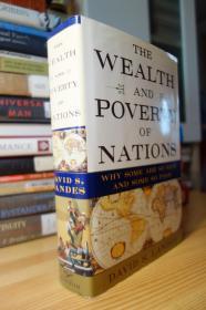 芒格推荐  国富国穷 作者亲笔签名赠书 带哈佛书店书签 The Wealth and Poverty of Nations: Why Some Are So Rich and Some So Poor 精装毛边有书衣