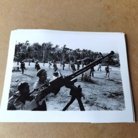 50年代 全国各地民兵学习照片一共19张