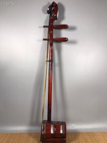 古代乐器老红木二胡一把
