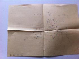 10-10清末日本地图——手绘