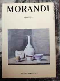 莫兰迪英文原版大十六开画集
