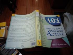 101 Ways to Make Training Active(英文原版)无光盘