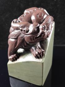 贵州石天然巧色古兽