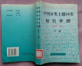 中国分类主题词表标引手册(下册)