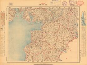 民国二十五年(1936年)《廉江遂溪老地图》图题为《廉江县》(原图高清复制),(民国廉江县老地图、廉江市老地图、遂溪县老地图、遂溪县地图),廉江县城在全图右上角,地图范围四至请看图片。广东省陆地测量总局测绘,军(用)地形图,比例尺二十万分之一,此图种非常少。全图规整,年代准确,村庄、道路、河流、山体登高等绘制详细。廉江、遂溪地理地名历史变迁史料。裱框后,风貌佳