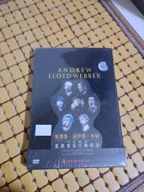 安德鲁.洛伊德.韦伯50年诞辰皇家音乐厅演唱会DVD  【全新未开封】