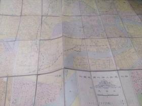 1929年布面《袖珍最新上海地图》
