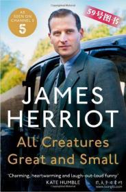 万物既伟大又渺小  英文原版 All Creatures Great and Small 吉米哈利 散文随笔 人与动物的有趣故事