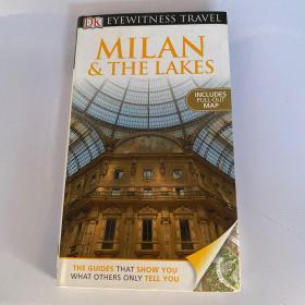 DK Eyewitness Travel Guide : Milan & the Lakes