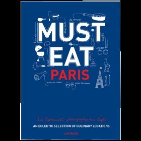 不得不吃:巴黎 An Eclectic Selection of Culinary Locations 英文原版 餐饮 烹饪 书籍