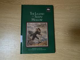 The Legend of Sleepy Hollow   欧文《睡谷故事》(无头骑士),张爱玲 曾中译,著名的Arthur Rackham 插图,精装,铜版纸印刷