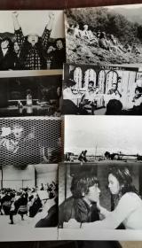 《火红的第五乐章》  日本电影黑白剧照包邮挂刷