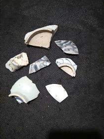 古 陶瓷片