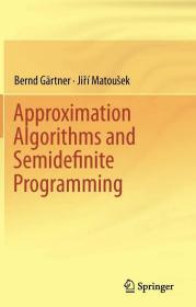 【正版英文原版】Approximation Algorithms and Semidefinite Programming