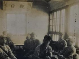 早期山东泰山照片军人封顶玉皇顶