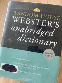 现货 Random House Webster's Unabridged Dictionary