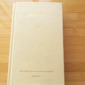 Clemens Brentano  / Wunderbare Erzählungen und Märchen 布伦塔诺《民间故事与童话集》德文原版