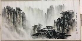 著名画家--刘嘉福《黄山秀岭》