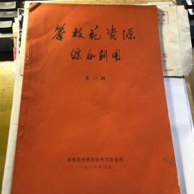 攀枝花资源综合利用  共60页
