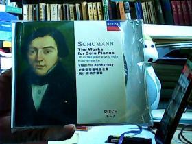 舒曼钢琴奏鸣曲全集-阿什.肯纳齐演奏(7CD