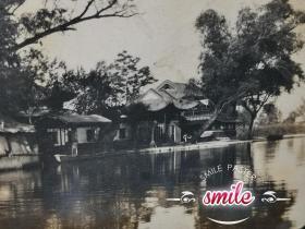 民国山东济南大明湖照片