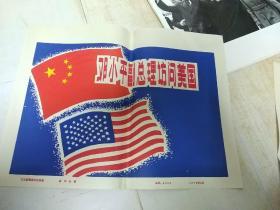 邓小平副总理访问美国 一套22张 品相如图