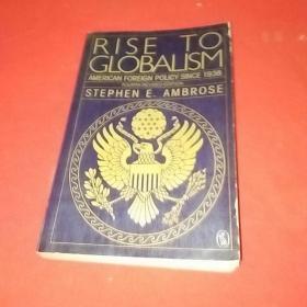 【英文原版】Rise to Globalism(品相如图)