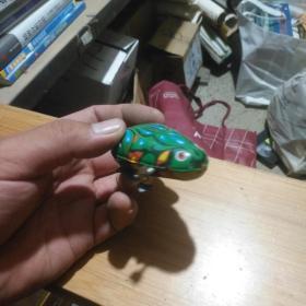 老铁皮玩具 青蛙