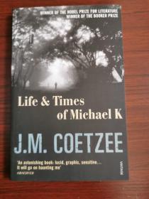 life & times of Michael j. m.  ckoetzee