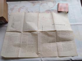 文革油印小报 广西桂林地区文革文献:苗儿山战报。修筑苗儿山公路时办的小报。报头和语录都套红。刻印很漂亮,富有时代特色和地方纪念意义