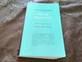 A Source Book in Chinese Philosophy 英文原版书 正版现货 当天发货