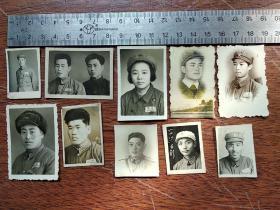 十张中国人民解放军老照片
