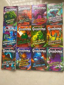 GOOSEBUMPS(24本合售)