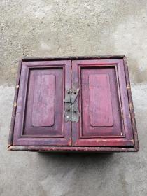 清代老木箱,