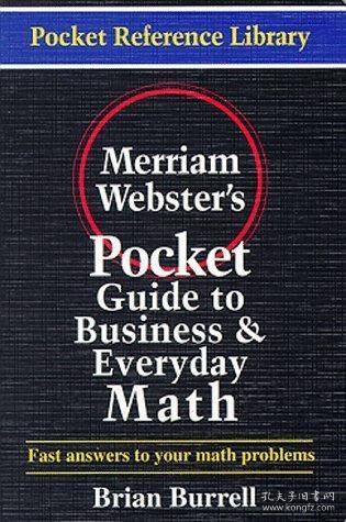 Merriam-Webster'sPocketGuidetoBusinessandEverydayMath(PocketReferenceLibrary)