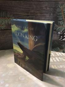 1995年版绝版狮子王口袋版设定集the art of lion king
