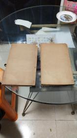 清代线装木刻版大开本医书:外科精义目录(上,下卷。共计2册)