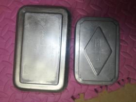 鋁飯盒2個
