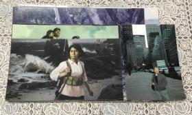 白仁海(中国美术学院副院长)个人生活照及油画作品照共8枚 每张照片背后均带其本人签名