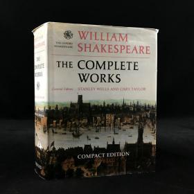 1992年 《莎士比亚作品全集》,牛津大学出版,精装厚重18开William Shakespeare: The Complete Works 精装