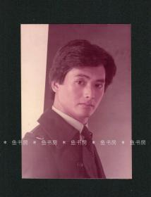 周润发照片,原版老照片,1983年6月 王长丽工作室摄影