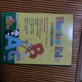 少儿英语自然拼读 (初级篇6DVD+6本书)幼儿英语音标教育音像光盘