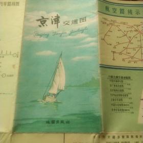 京津交通图