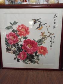 常州著名花鸟画家~杨旦