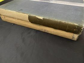 1830-1831年大型金屬版畫書《paris and its environs》(巴黎周邊的美麗風光)2冊,收錄巴黎一帶河岸城市風景建筑人文景觀教堂劇院等版畫約200幅。書長約38CM,書脊損壞無