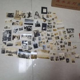 包邮民国时期侵华日军照片及家族照片等100张